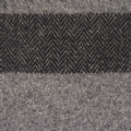 Lambswool Scarf -  Grey & Black